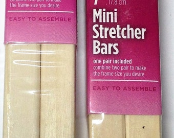 "Stretcher Bar set for the Shorebird kit - 7"" and 10"" bars"