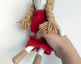Olívia, Trapos e Tralhas Rag Doll, Handmade