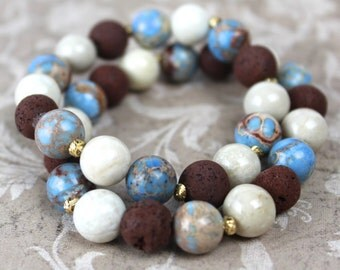 GRACE CynRgy Aromatherapy Bracelet™ - Includes Essential Oil Sample, Gift Box & Free Shipping!
