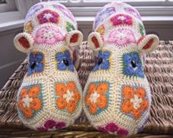 Hand Crafted Crochet hippos - expertly made
