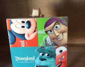 Disneyland Decorative Tile, Disneyland Tickets on Tile, Disneyland Collectible