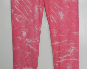 Tie Dye Leggings acid wash Yoga Pants yoga Leggings hand Printed Leggings colours customized personalised leggings Made in UK