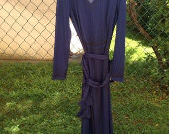 ROBERTA DI CAMERINO authentic 1970's long dress