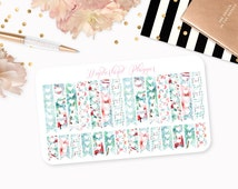 Vintage Summer - Beach Themed Planner Stickers // Checklists // Perfect for Erin Condren Vertical Life Planner