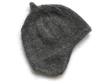 alpaca hat-baby hats, hand knit newborn hats, babyhats, kid hats, hant knit baby hat, knit baby hat