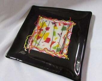 Square Autumn Platter