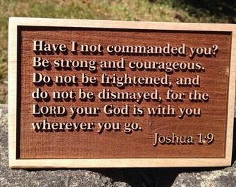 Hardwood Bible Verse -