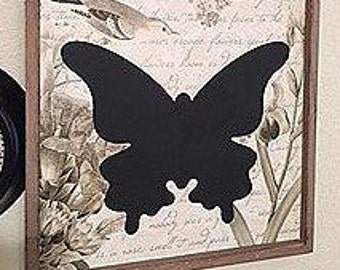 Butterfly Silhouette Wall Hanging Picture