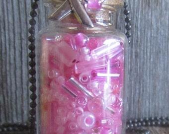 Breast Cancer Awareness Necklace- Cancer Awareness- Breast Cancer Survior