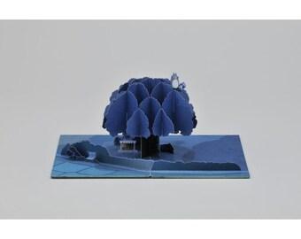 DIY Paper craft Kit / My Neighbor Totoro Studio Ghibli / Tree of Okusu