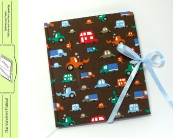 Diary notebook cars cars