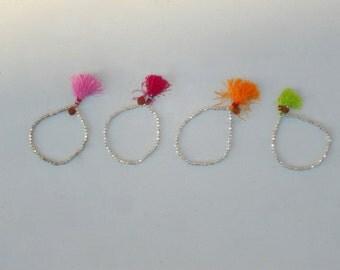 Yashueprem Rudra silver plated good luck bracelet