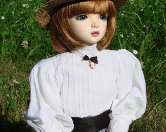 Edwardian summer outfit for MSD Iplehouse JID doll
