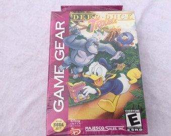Deep Duck Trouble Sealed Sega Game Gear - Donald Duck