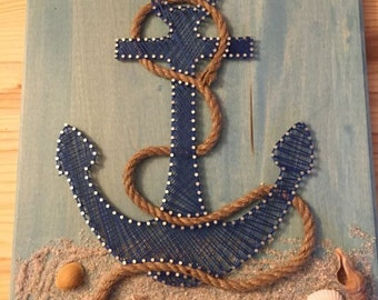DIY Kit - Anchor String Art