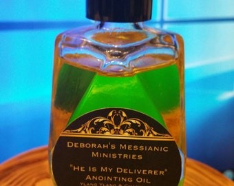 He Is My Deliverer Anointing Oil