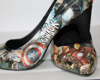 The Avengers High Heel Size 8