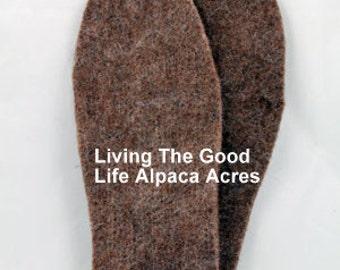 Alpaca Felt Boot Inserts