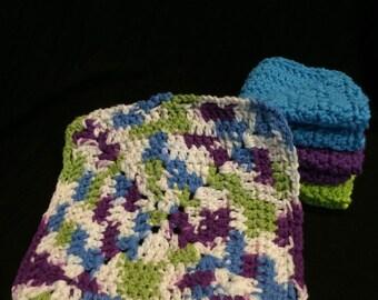 Cotton Dishcloths (set of 4)