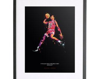 Micheal Jordan Print