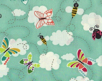 Bees Butterflies and Lady Bugs -1 yd - Hoffman