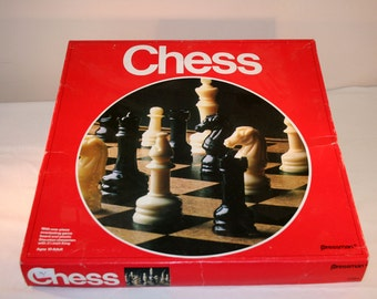 1978 Chess Game//Vintage Board Game