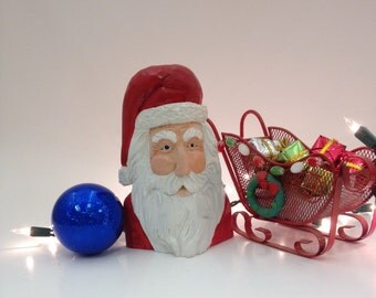 Traditional Santa Clause Ornament