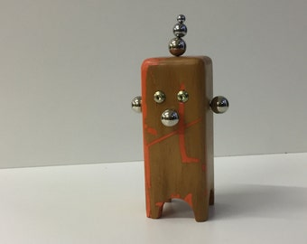 Funny Wood Clown-magnetic-Magnetic Character Clown