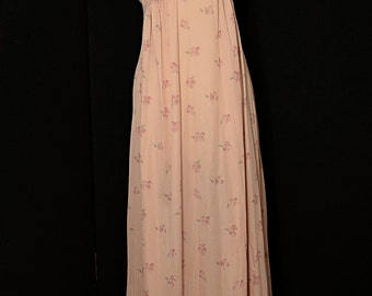 Vintage Lily of France Nightgown - Rosa Puleo-Szule Rare 1970s Pink Size Small