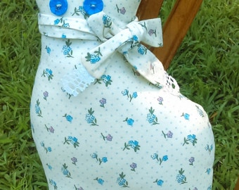 Vintage Cat Doll Shelf Sitter Pillow cat Cat Silhouette Country decor Easter Basket Gift Easter Decor