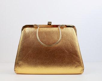 Vintage Gold Clutch 003