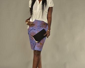 Short skirt in wax 40