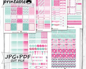 40% OFF SALE/May Monthly Planner Stickers/Printable Planner Stickers for Erin Condren Lifeplanner/Planner Stickers Printable/May Stickers