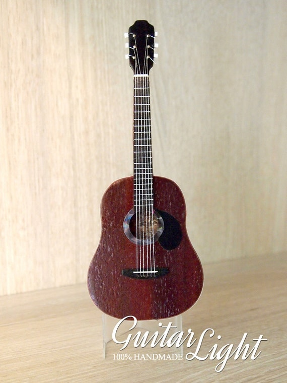gift idea for guitar player collectible guitar small model. Black Bedroom Furniture Sets. Home Design Ideas