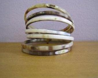 Horn Bracelet week 7 days Handmade Jewelry VT015