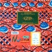 African Print Fabric - Real Wax Fabric  - GTP sold by the yard- Made in Ghana Fabric By Yard - Ankara Fabric