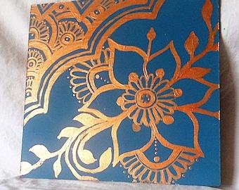 Mehndi Style Paintings