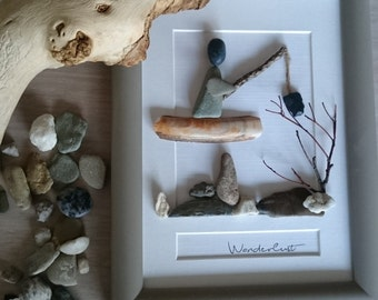 Photo Frame Sticks & Stones | Wanderlust