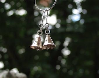 enneagonal bronze ear bells