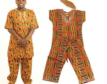 Boys Kente Set