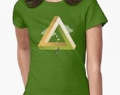 Hyrule Valley - Legend of Zelda x Monument Valley mashup T-shirt