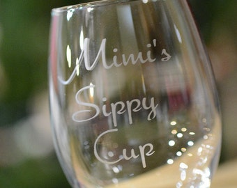 Mimi's sippy cup wineglass