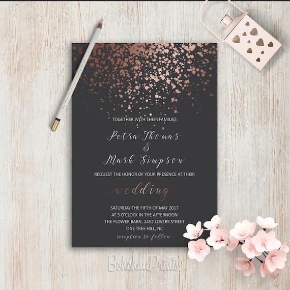 Wedding Invitation Ideas: Elegant Wedding Invitations Simple Wedding Invitation Rose