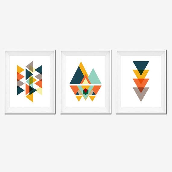 Wall Art Prints Download : Digital art prints wall posters geometric by