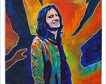 The Doors Painting, Original Jim Morrison Fine Art, Morrison painting