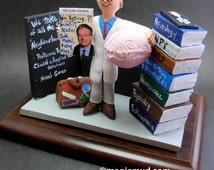 Neurologist's Figurine, Custom Made Gift for a Brain Doctor, Personalized Surgeon Gift, Doctor Graduation Gift, Neurology Doctor Gift