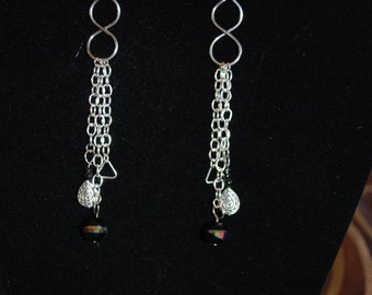Earrings - Infinity Dangle