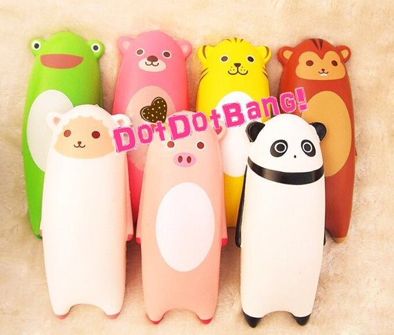Kawaii Squishy Animal Wrist Rest : Jumbo Animal Squishy Wrist Pad 15cm Cute Kawaii by DotDotBang