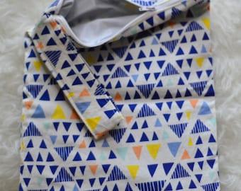 Blue Diamond Wet Dry Bag, Swim Bag, Travel Bag, Waterproof, Washable