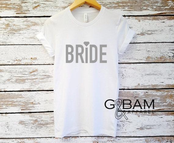 Boyfriend T-shirt / Mrs. Shirt / Bride Shirt / Future Mrs.